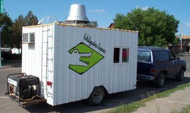 Wally and Heather Wilson's Wallygators Express takes quality coffee service directly to customers along the Hi-line of Montana.